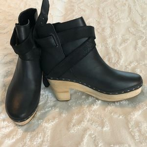 Free People Bungalow clog boot 38